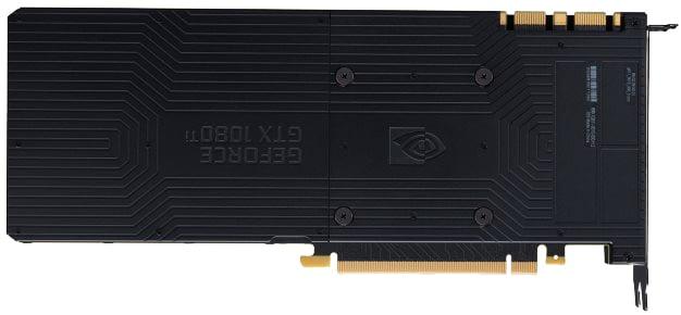 GeForce GTX 1080 Ti - Back