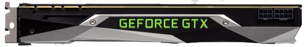GeForce GTX 1080 Ti - Top Edge
