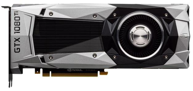 GeForce GTX 1080 Ti - Front