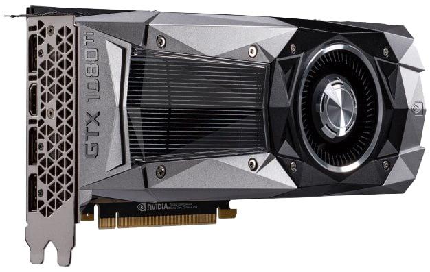 GeForce GTX 1080 Ti Angle Shot