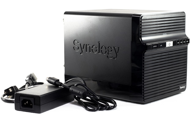 synology disk station with power adapter