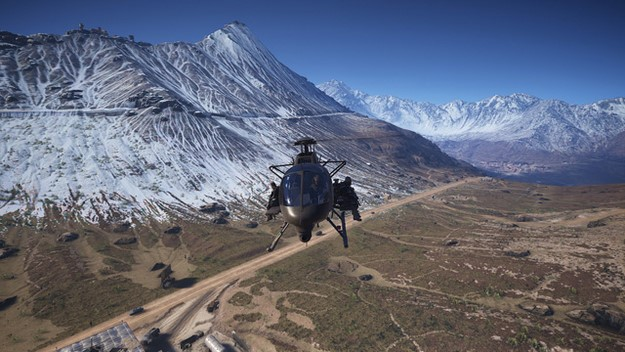 Ghost Recon Wildlands helicopter sniping