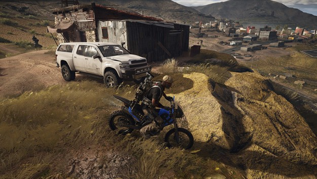 Ghost Recon Wildlands motorcycle ground movement