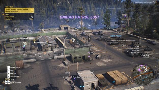 Ghost Recon Wildlands base camp