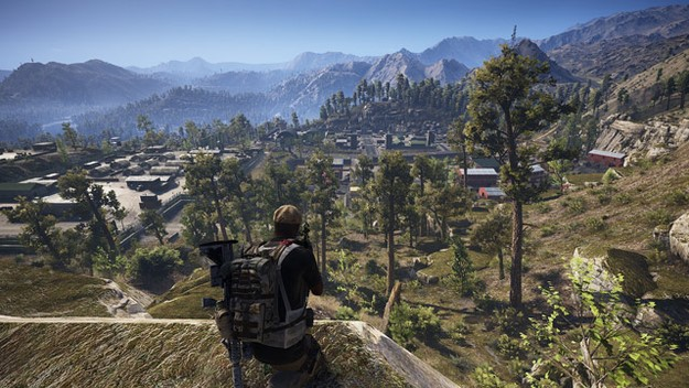Ghost Recon Wildlands vantage point for sniper attack