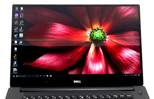 dell xps 15 9560 display straight on