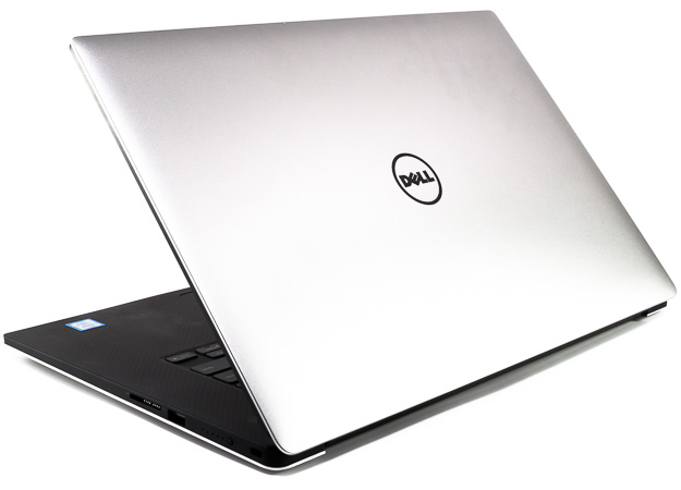 dell xps 15 9560 rear three quarters close