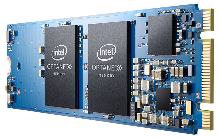 Intel Optane Memory With 3D XPoint Technology Caches Slower Drives For A Performance Boost