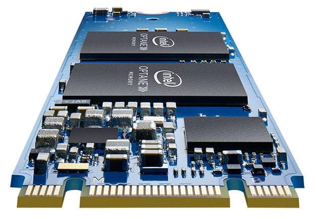 intel optane memory stick m2 front