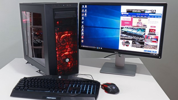 AMD Ryzen CyberPower Gaming PC and Monitor2