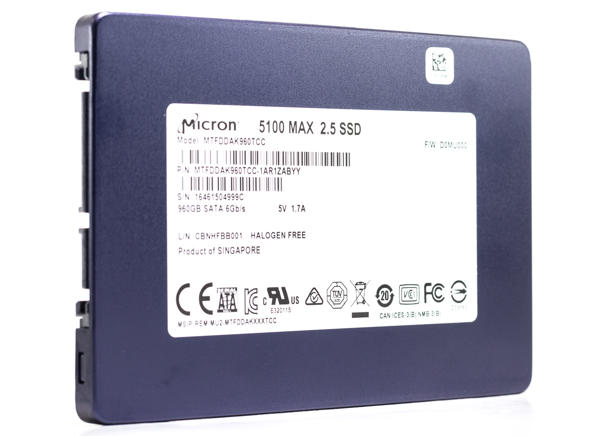 Micron 5100 ECO and MAX SSD Review: High-Capacity, Affordable Datacenter Storage