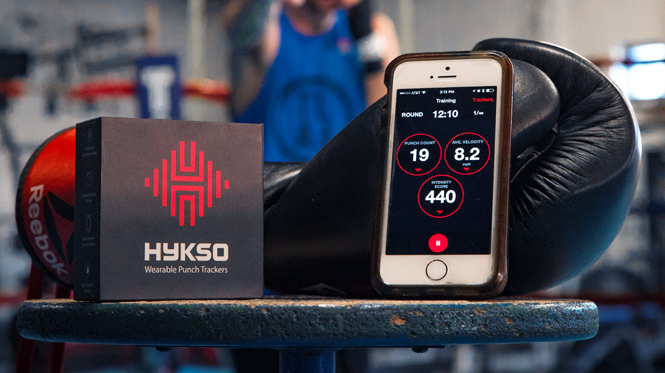 Hykso Punch Trackers Review: Boxing Meets Wearable Technology
