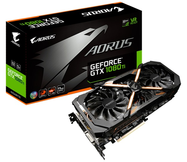 gb aorus 1080 ti box