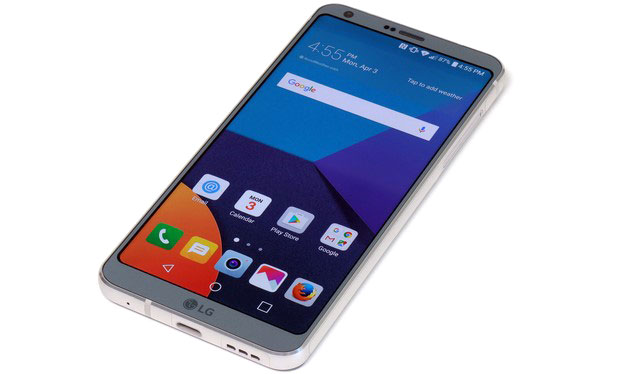LG G6 Front Home Top Angle3