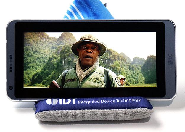 LG G6 movie playback