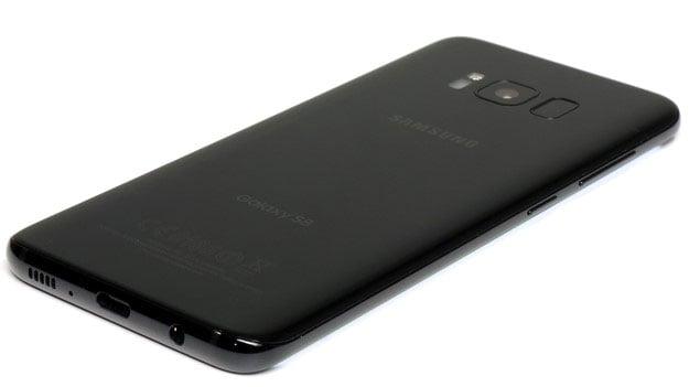 Galaxy S8 Jet Black Back