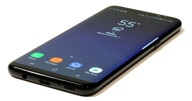 Galaxy S8 Jet Black Front