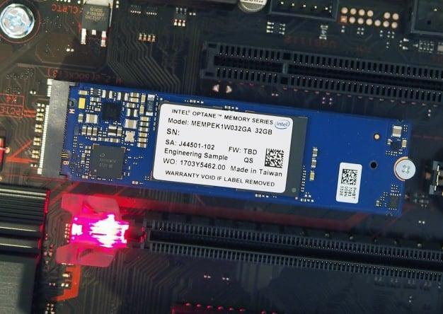 intel optane memory 5