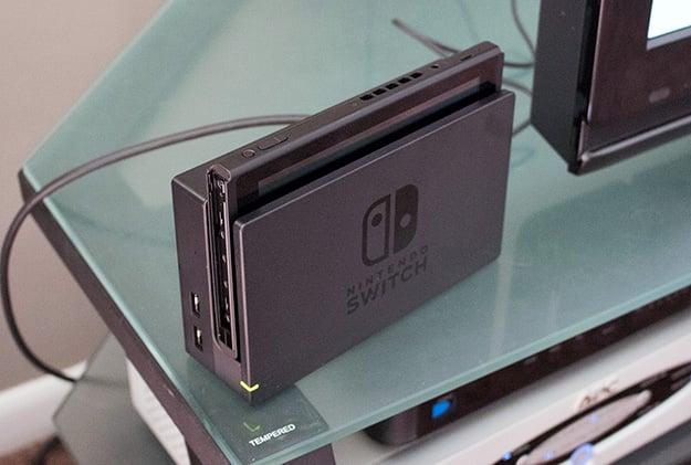 Nintendo Switch Docked