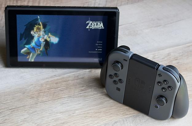 Nintendo Switch Joy-Con Grip Assembled