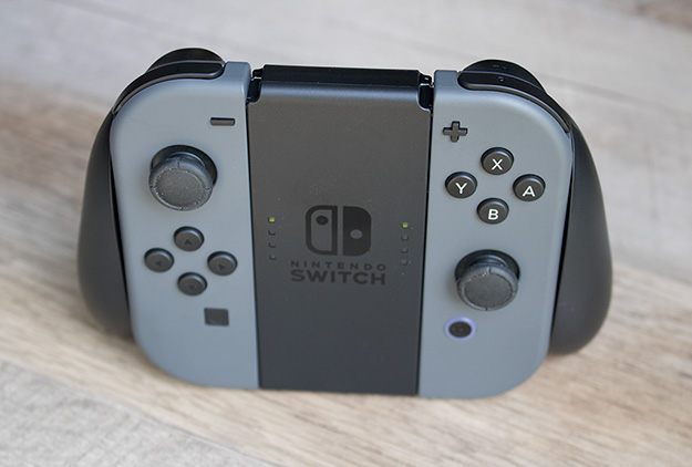 Nintendo Switch Joy-Con Grip Assembled Front