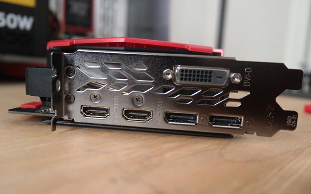 MSI 1080 ti gaming x ports