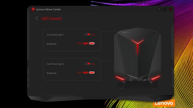 Lenovo IdeaCentre Y710 Cube nerve center 02