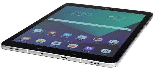 Samsung Galaxy Tab S3 bottom front edge