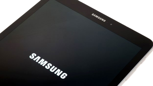 Samsung Galaxy Tab S3 top front booting