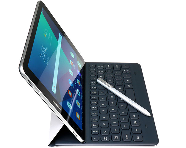 Samsung Galaxy Tab S3 with Pen side view left