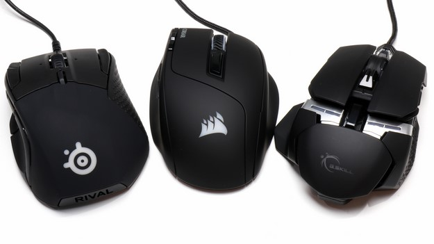 Corsair SteelSeries and GSkill Gaming Mice