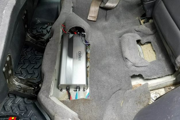 Jeep Project amplifier