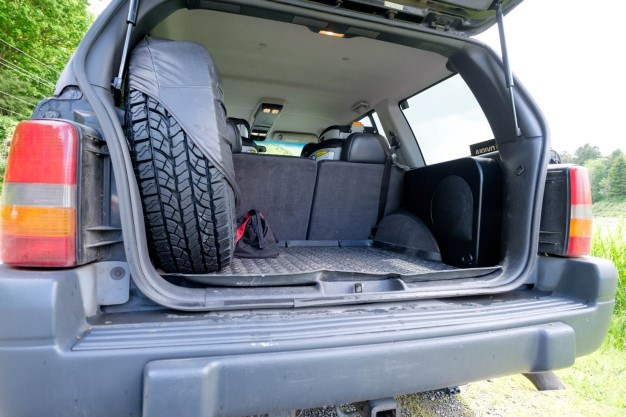 Jeep Project subwoofer