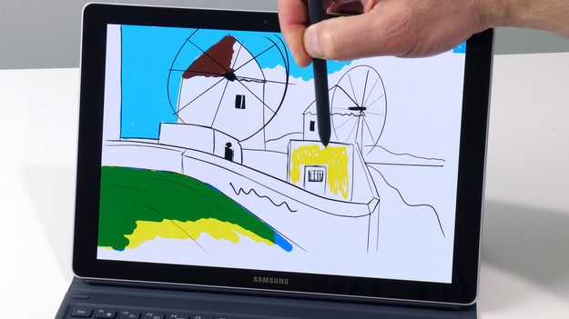 Samsung Galaxy Book 12 Pen and Windows Ink