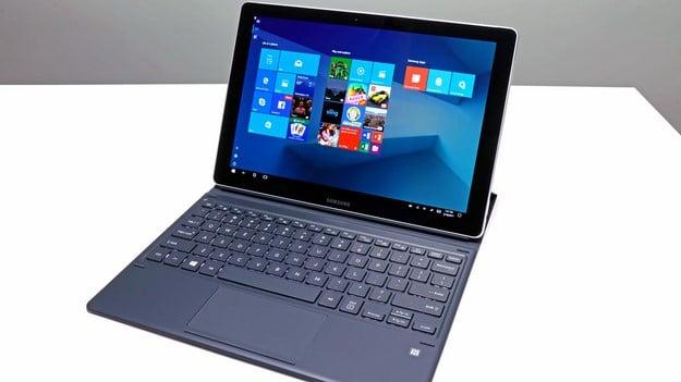 Samsung Galaxy Book 12 in Keyboard Dock