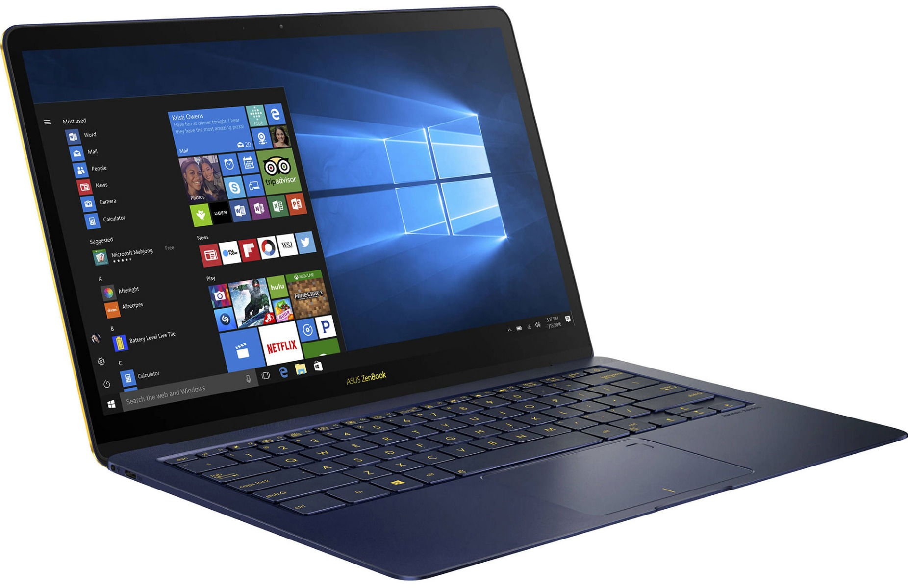 ASUS ZenBook Deluxe 3 UX490UA Review: A Striking, Slim Ultrabook