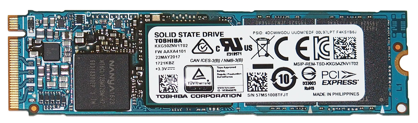 Toshiba XG5 NVMe SSD Review: Strong Performance With 64-Layer BiCS 3D Flash