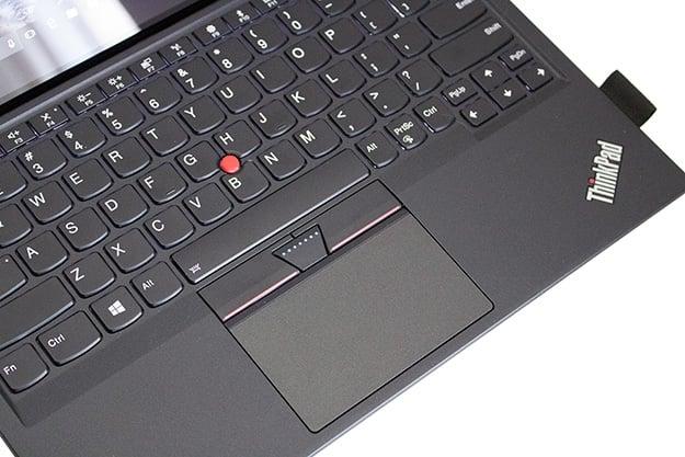 Lenovo ThinkPad X1 Tablet Keyboard Angled
