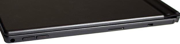 Lenovo ThinkPad X1 Tablet 2nd Gen Ports Right