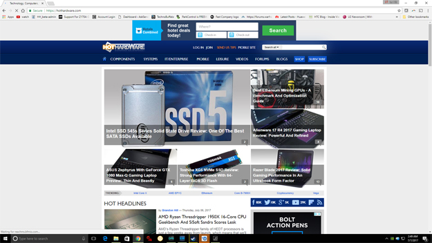 Acer Predator XB252Q High Speed 240Hz G-Sync Gaming Monitor