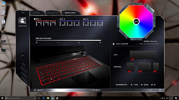 Origin PC EON15-S FlexiKey