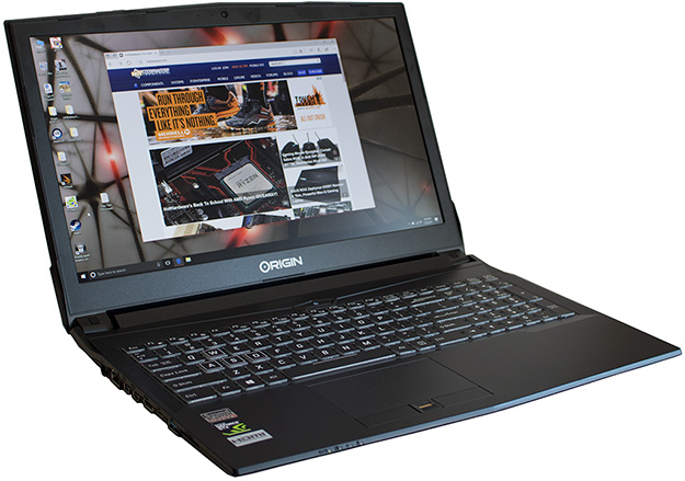 Origin PC EON15-S Main