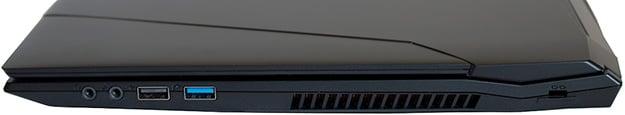 Origin PC EON15-S Ports Right Side