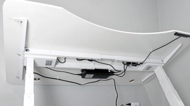 Autonomous Smart Desk 2 underneath electronics