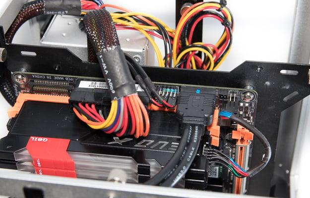 streacom db4 build power and panel header