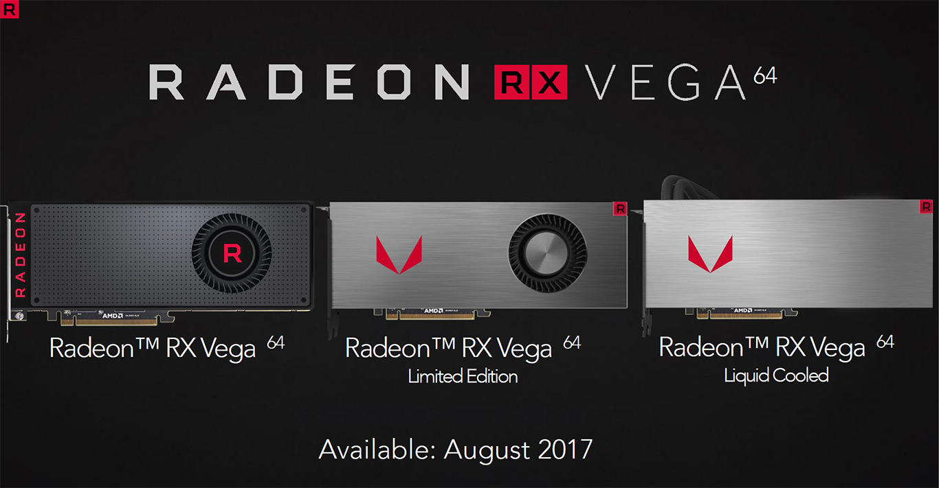 AMD Radeon RX Vega Unveiled With 8GB HBM2, Up To 27.5 TFLOPs, Starting At $399