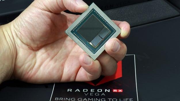 Radeon RX Vega GPU In Hand
