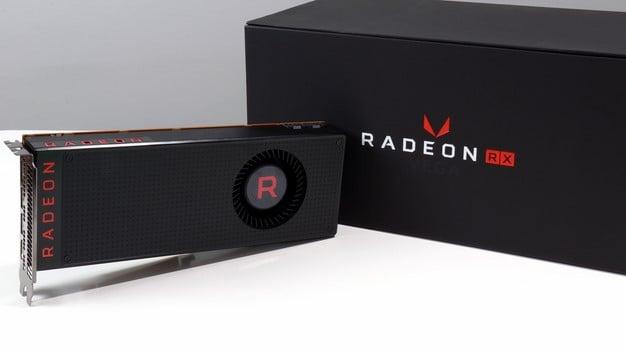 AMD Radeon RX Vega 64 And Box