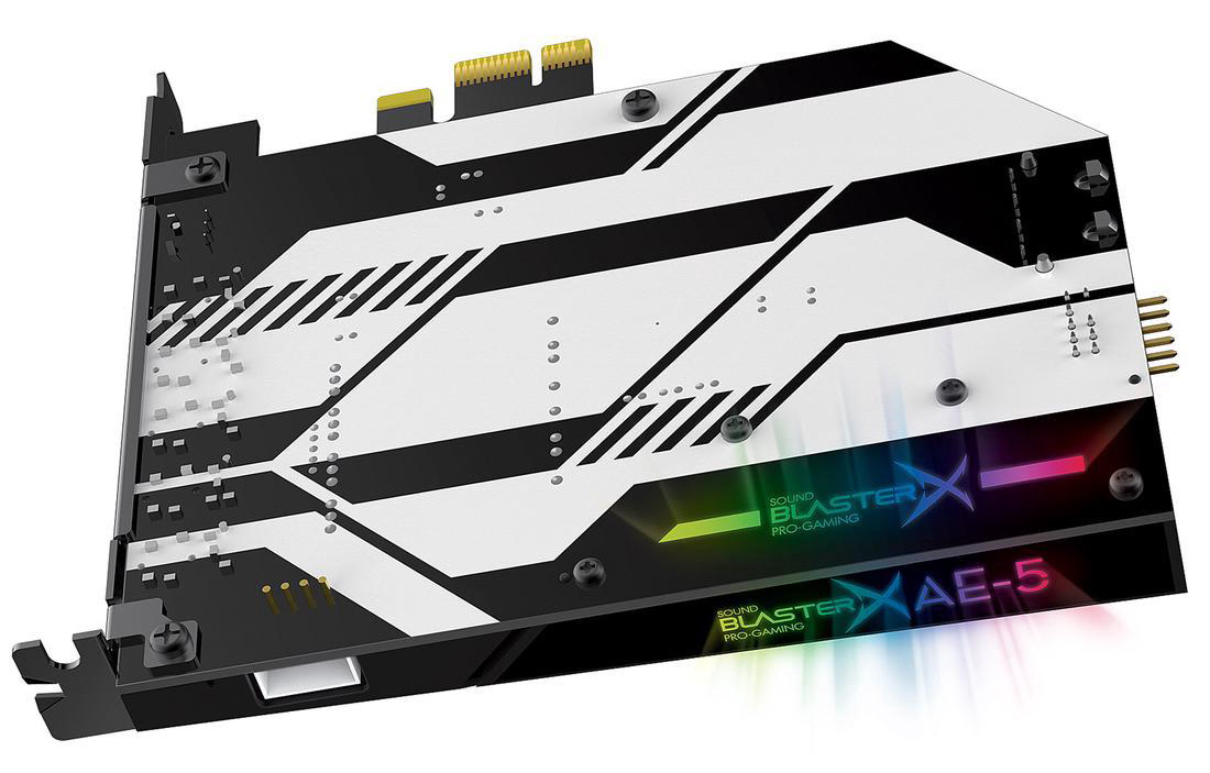 Sound BlasterX AE-5 Review: An Uncompromising Gaming Sound Card For Audiophiles