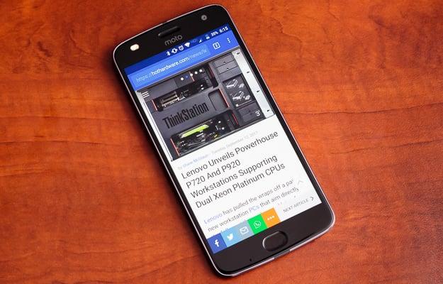 Motorola Moto Z2 Play Smartphone - David Altavilla